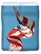 Flagged Duvet Cover