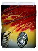 Flaming Beauty Duvet Cover