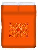 Floral Sunrise Duvet Cover