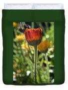 Floral Torch Duvet Cover