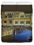 Florence - Ponte Vecchio Duvet Cover by Joana Kruse