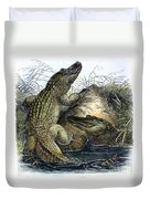 Florida Alligators Duvet Cover