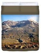 Flowers On Mount St. Helens Duvet Cover