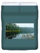 Forest Lake Duvet Cover