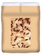 Formosan Termites Duvet Cover