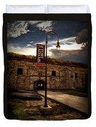 Fort Adams State Park Duvet Cover