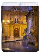 Fountain Aix-en-provence Duvet Cover