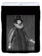 Francis Bacon (1561-1626) Duvet Cover