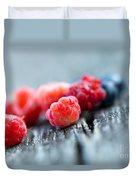 Fresh Berries Duvet Cover
