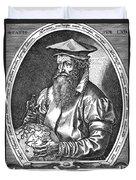 Gerardus Mercator, Flemish Cartographer Duvet Cover