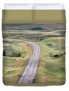 Ghost Town Galilee Saskatchewan Duvet Cover