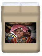 Girl Of Almolonga Duvet Cover