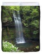 Glencar Waterfall, Co Sligo, Ireland Duvet Cover