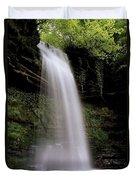 Glencar Waterfall, County Leitrim Duvet Cover