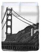 Golden Gate Bridge Work Duvet Cover