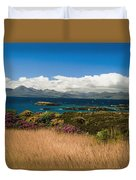 Gorse And Rhododendron Bushes Duvet Cover