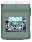 Graffiti - Tubs Iv Duvet Cover