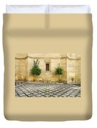 Granada Cathedral Doors And Other Details Duvet Cover