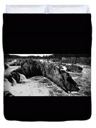 Great Falls Virginia Bw Duvet Cover