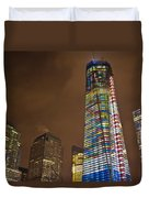 Ground Zero Freedom Tower Duvet Cover