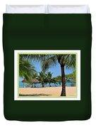Guatamala Beach Duvet Cover