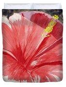 Happy Hibiscus Duvet Cover