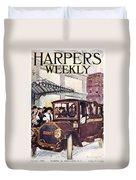 Harpers Weekly, 1913 Duvet Cover