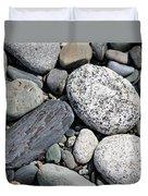 Healing Stones Duvet Cover