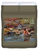 Healing Water Duvet Cover