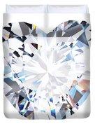 Heart Diamond  Duvet Cover