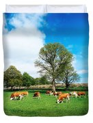 Hereford Bullocks Duvet Cover