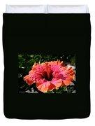 Hibiscus Blossom Duvet Cover