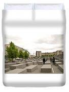 Holocaust Memorial - Berlin Duvet Cover
