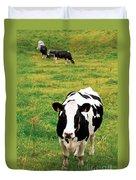 Holstein Dairy Cattle Duvet Cover