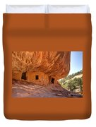 House On Fire Anasazi Indian Ruins Duvet Cover
