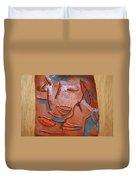 Hugs - Tile Duvet Cover