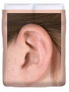 Human Ear Duvet Cover