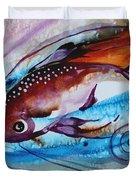 Hurricane Fish 28 Duvet Cover