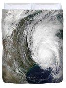 Hurricane Lili Duvet Cover