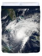 Hurricane Paloma Duvet Cover