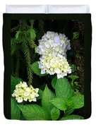 Hydrangea Blooming Duvet Cover