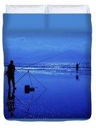 Inch Beach, Dingle Peninsula, County Duvet Cover