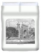 India: Taj Mahal Duvet Cover