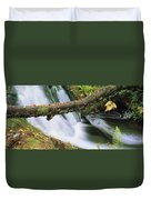 Ireland Waterfall Duvet Cover