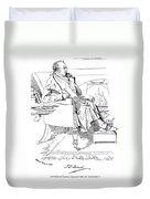 Isaac Disraeli (1766-1848) Duvet Cover