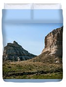 Jailhouse Rock And Courthouse Rock Duvet Cover