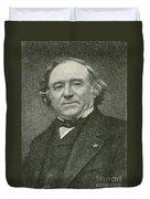 Jean Baptiste Dumas, French Chemist Duvet Cover