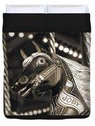 Joby The Carousel Horse Duvet Cover