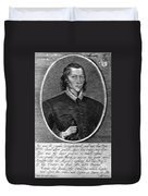 John Donne (1573-1631) Duvet Cover