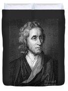 John Locke, English Philosopher, Father Duvet Cover